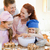 happy young family enjoys baking together stock photo © wavebreak_media
