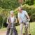 derűs · idős · pár · bicikli · vidék · teljes · alakos · nő - stock fotó © wavebreak_media