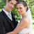 knap · bruidegom · mooie · vrouw · jonge - stockfoto © wavebreak_media