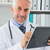 stethoscoop · vrouwelijke · bloeddruk · senior - stockfoto © wavebreak_media