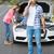 para · samochodu · strona · drogowego · kobieta · człowiek - zdjęcia stock © wavebreak_media