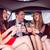gelukkig · vrienden · drinken · champagne · limousine - stockfoto © wavebreak_media
