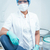 dentist wearing surgical mask and safety glasses stock photo © wavebreak_media