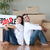 Happy couple with unpacking boxes moving to a new house stock photo © wavebreak_media