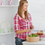 Attractive young woman preparing a salad in the kitchen stock photo © wavebreak_media