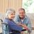 maduro · casal · olhando · câmera · médico · saúde - foto stock © wavebreak_media