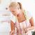 ritratto · donna · cuoco · cucina · sorriso - foto d'archivio © wavebreak_media