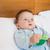 Baby · halten · Spielzeug · Bett · cute · Junge - stock foto © wavebreak_media