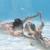 Cute · пару · целоваться · подводного · Бассейн · праздников - Сток-фото © wavebreak_media