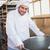 souriant · Baker · industrielle · mixeur · boulangerie - photo stock © wavebreak_media