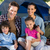 família · feliz · camping · trio · tenda · mulher - foto stock © wavebreak_media