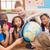 escola · primária · geografia · classe · globo · crianças · criança - foto stock © wavebreak_media