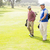 człowiek · golf · bag · trawy · sportu · orzeł - zdjęcia stock © wavebreak_media