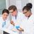 zagęszczony · naukowcy · patrząc · zlewka · laboratorium · kobieta - zdjęcia stock © wavebreak_media