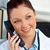 çekici · kadın · doktor · ofis · oturma · büro · kadın - stok fotoğraf © wavebreak_media