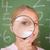 cute · schoolmeisje · naar · vergrootglas · klas · kind - stockfoto © wavebreak_media