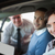 smiling couple in a new car with a salesman stock photo © wavebreak_media