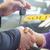 ビジネスマン · 車のキー · 車のキー · 孤立した · 白 - ストックフォト © wavebreak_media