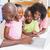 sevimli · kardeşler · dizüstü · bilgisayar · kullanıyorsanız · birlikte · ebeveyn · ev - stok fotoğraf © wavebreak_media