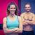 muskuläre · Paar · schauen · Kamera · Frau · vor - stock foto © wavebreak_media