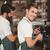 alegre · camarero · dos · baguettes · panadería - foto stock © wavebreak_media