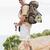 portré · kirándulás · férfi · sétál · hegy · terep - stock fotó © wavebreak_media