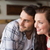 cute · couple · date · café · fille · amour - photo stock © wavebreak_media