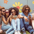 hipster friends using their phones stock photo © wavebreak_media