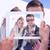 composite image of hand holding tablet pc stock photo © wavebreak_media