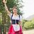 oktoberfest · meisje · bier · illustratie · sexy · grappig - stockfoto © wavebreak_media