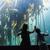 menino · peixe · aquário · animal · felicidade · em · pé - foto stock © wavebreak_media
