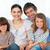 retrato · família · feliz · sessão · sofá · casa · grupo - foto stock © wavebreak_media