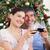 gelukkig · kinderen · christmas · tijd · leggen · boom - stockfoto © wavebreak_media