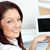 熱狂的な · 幸せ · 女性実業家 · スタイリッシュ · ミニスカート - ストックフォト © wavebreak_media