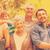 portrait of an extended family at park stock photo © wavebreak_media