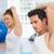 женщину · инструктор · класс · соответствовать · мужчины - Сток-фото © wavebreak_media