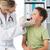 examinar · boca · primer · plano · paciente · mujer · dentista - foto stock © wavebreak_media