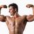 retrato · muscular · moço · músculos · branco · sorrir - foto stock © wavebreak_media