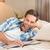 красивый · мужчина · расслабляющая · кровать · домой · спальня · человека - Сток-фото © wavebreak_media