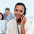 Charming businesswoman talking on phone stock photo © wavebreak_media