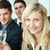 business · toast · champagne · gelukkig · jonge - stockfoto © wavebreak_media