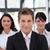 equipo · de · negocios · oficina · fondo · empresario · grupo · traje - foto stock © wavebreak_media