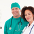 retrato · guapo · enfermera · cirujano · sonriendo · cámara - foto stock © wavebreak_media