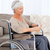 Senior in wheelchair with pills stock photo © wavebreak_media