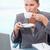 肖像 · 深刻 · 女性実業家 · 飲料 · コーヒー · オフィス - ストックフォト © wavebreak_media