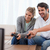 Couple playing video games in their living room stock photo © wavebreak_media
