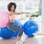 vista · laterale · montare · donna · fitness · palla - foto d'archivio © wavebreak_media
