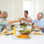 Family toasting while having meal stock photo © wavebreak_media