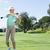 maturo · golfista · campo · da · golf · swing · inizio - foto d'archivio © wavebreak_media