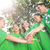 happy environmental activists in the park stock photo © wavebreak_media